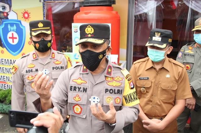 Jelang Malam Pergantian Tahun, Wakapolda Banten Tinjau Kesiapan Ops Lilin Kalimaya Polres Lebak