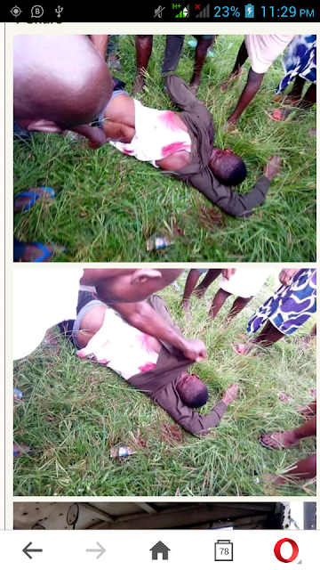 Vigilante Members Shoot Phone Snatcher Dead In Edo (Graphic Pics)