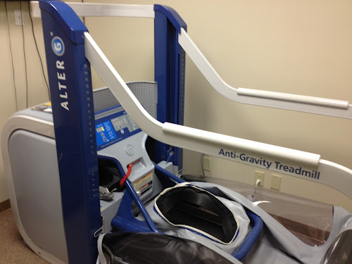 Alter-G anti-gravity treadmill
