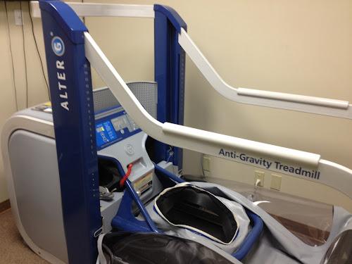 Alter-G anti-gravity treadmill