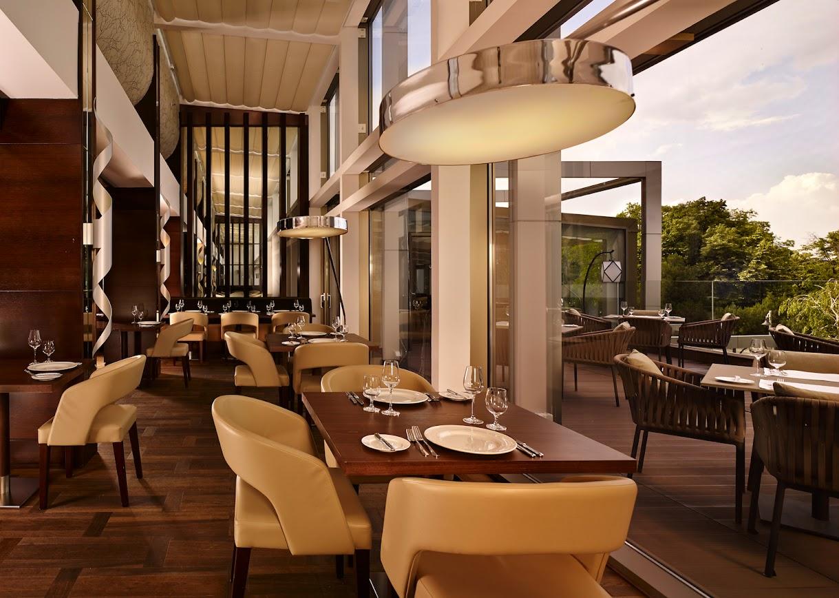 Metropol Palace Hotel in Belgrade, Serbia