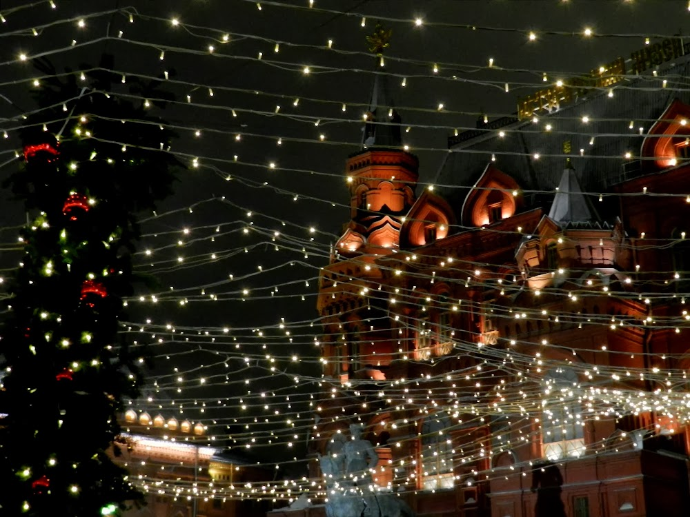 Christmas time in Moscow