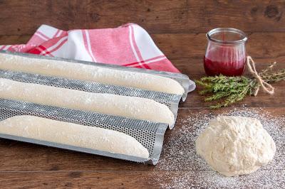 We love baking Baguette Blech der Firma Städter