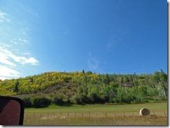 Highway 9 between Kremmling and Silverthorne Colorado