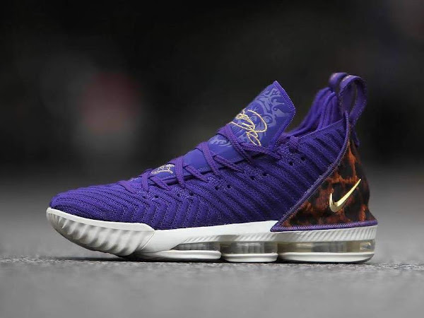 brand new 00eb9 d5e17 A Detailed Look at Nike LeBron 16 'King Court Purple' | NIKE ...