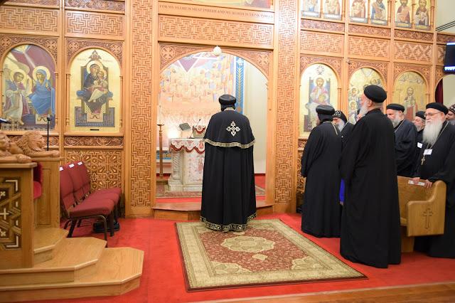 His Holiness Pope Tawadros II visit to St. Mark LA - DSC_0173.JPG