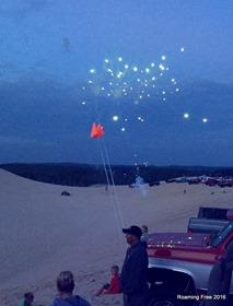 Fireworks all around us!