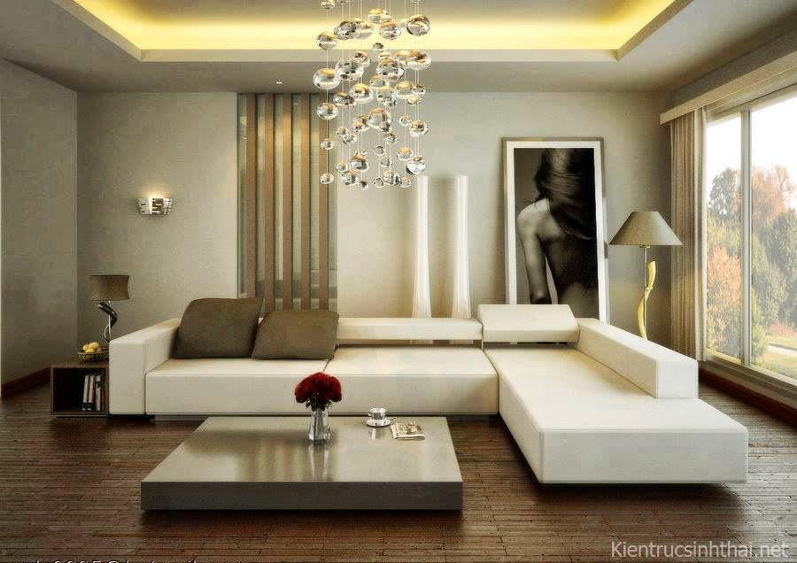 Mẫu phòng khách đẹp, đơn giản