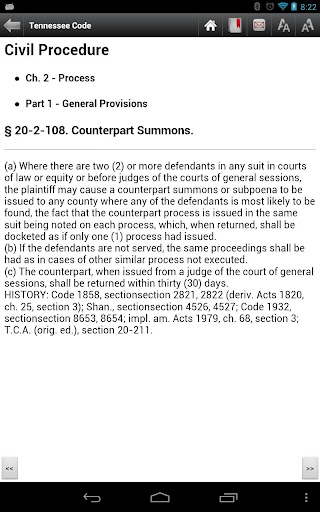 Tennessee Statutes Laws CODE screenshot 5
