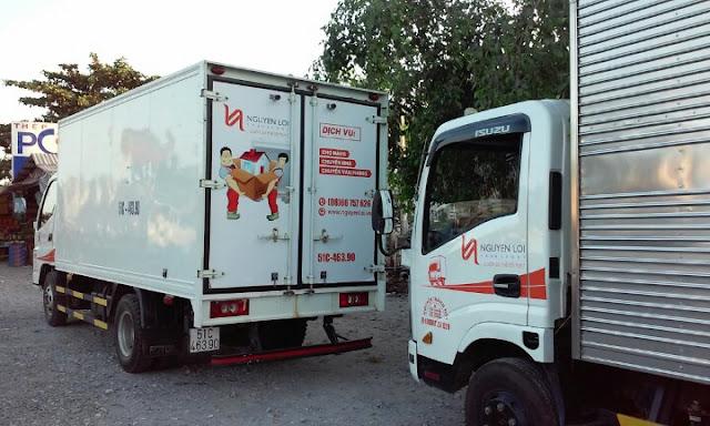 Dịch vụ chở hàng quận Tân Phú
