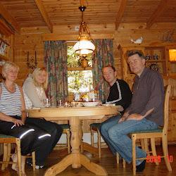 Høsten 2008 - Hyttetur på Fister