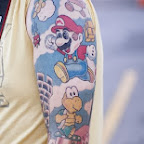 arm nintendo - tattoo meanings