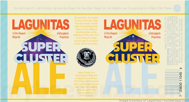Lagunitas Adding Super Cluster Ale 12oz Cans