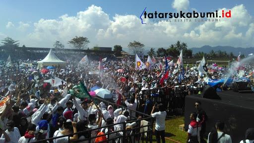Prabowo tidak jadi hadiri Jalan Santai di Sukabumi // Foto : Rapik Utama