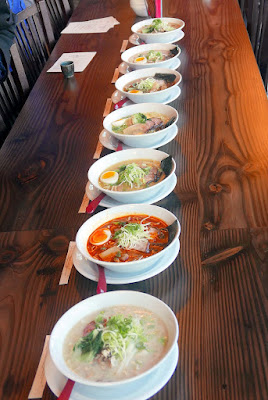Marukin Ramen is offering multiple kinds of ramen