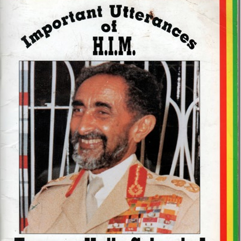 "The stirring words of Haile Selassie that Bob Marley used for the song ""War""…"