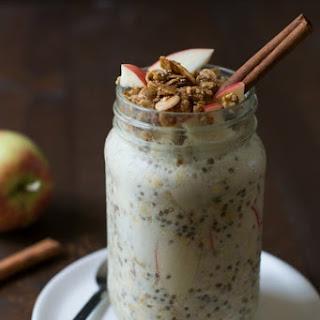 Easy Apple Crisp Overnight Oats Recipe