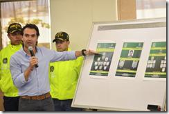 Alcalde presento organizaciones criminales