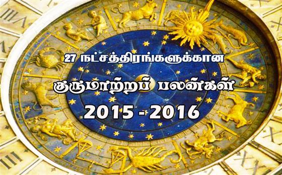 2015 - குருமாற்றப் பலன்கள் : ரேவதி