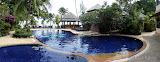 Poolen på Sand Sea Resort & Spa, Koh Samui.