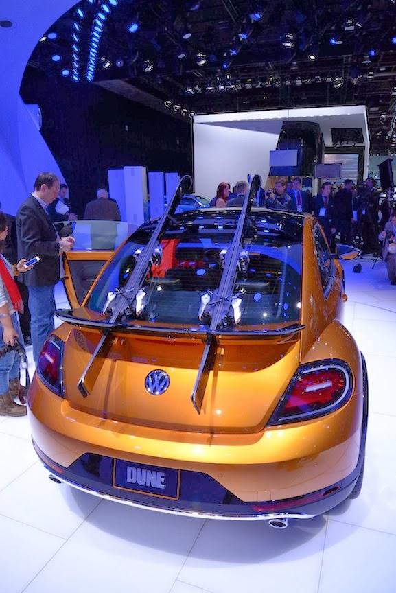 Volkswagen Beetle Dune Concept NAIAS 5