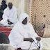 (PHOTOS)  Cheikh Mouhamadou Mountakha a dirigé la prière de Tisbaar dans la toute nouvelle mosquée contiguë à l'université de Touba