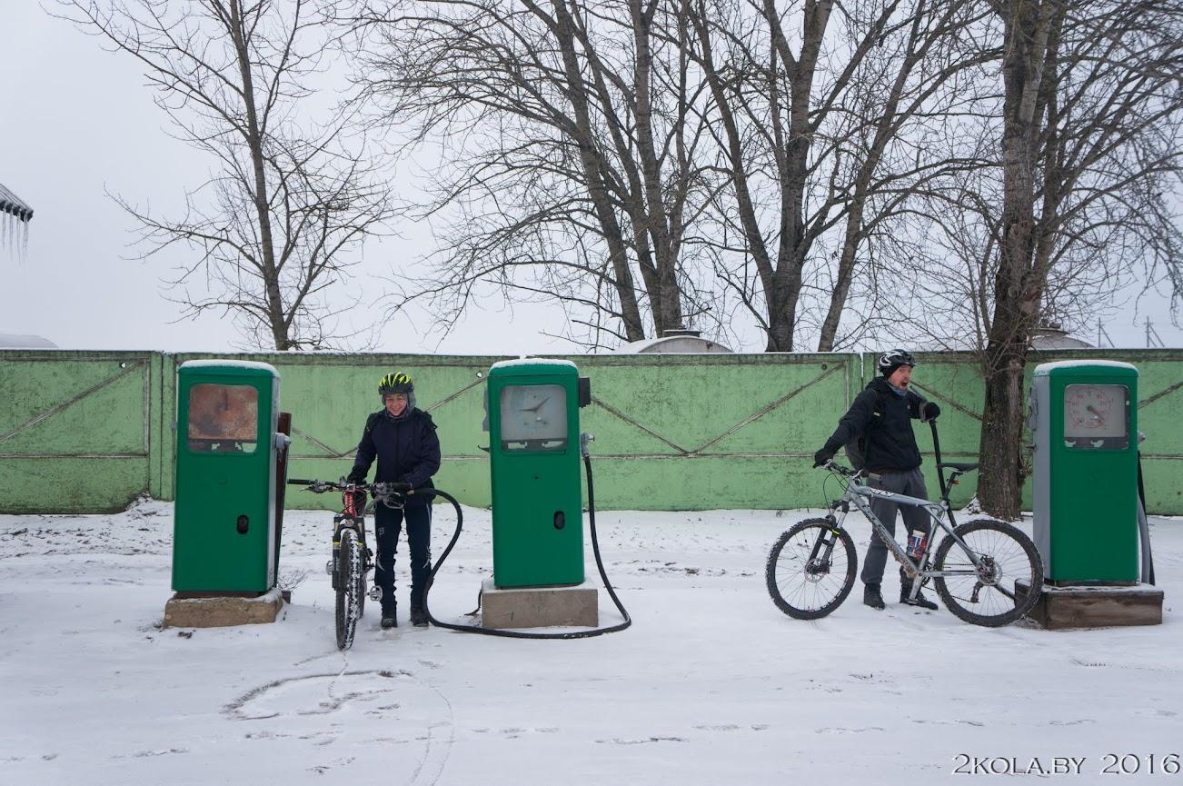DSC08160 - Зимняя покатушка к резиденции Радзивиллов (Снов-Несвиж-Городея)