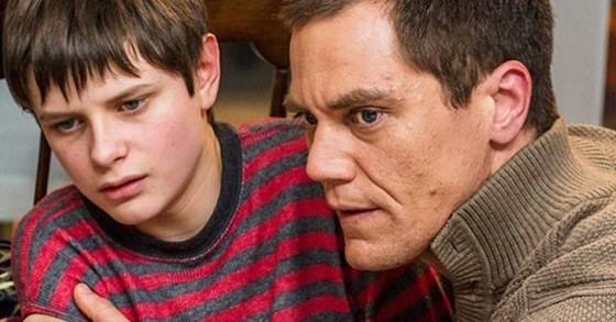 Charlie Tahan and Michael Shannon in Cant Come Out to Play