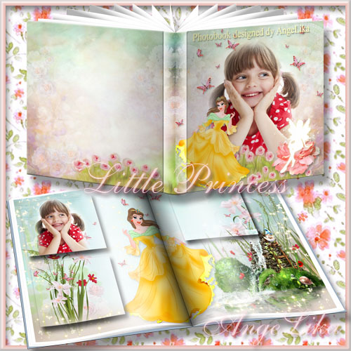 Photobook for Girls - Little Princess