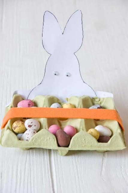 bandeja huevos de pascua