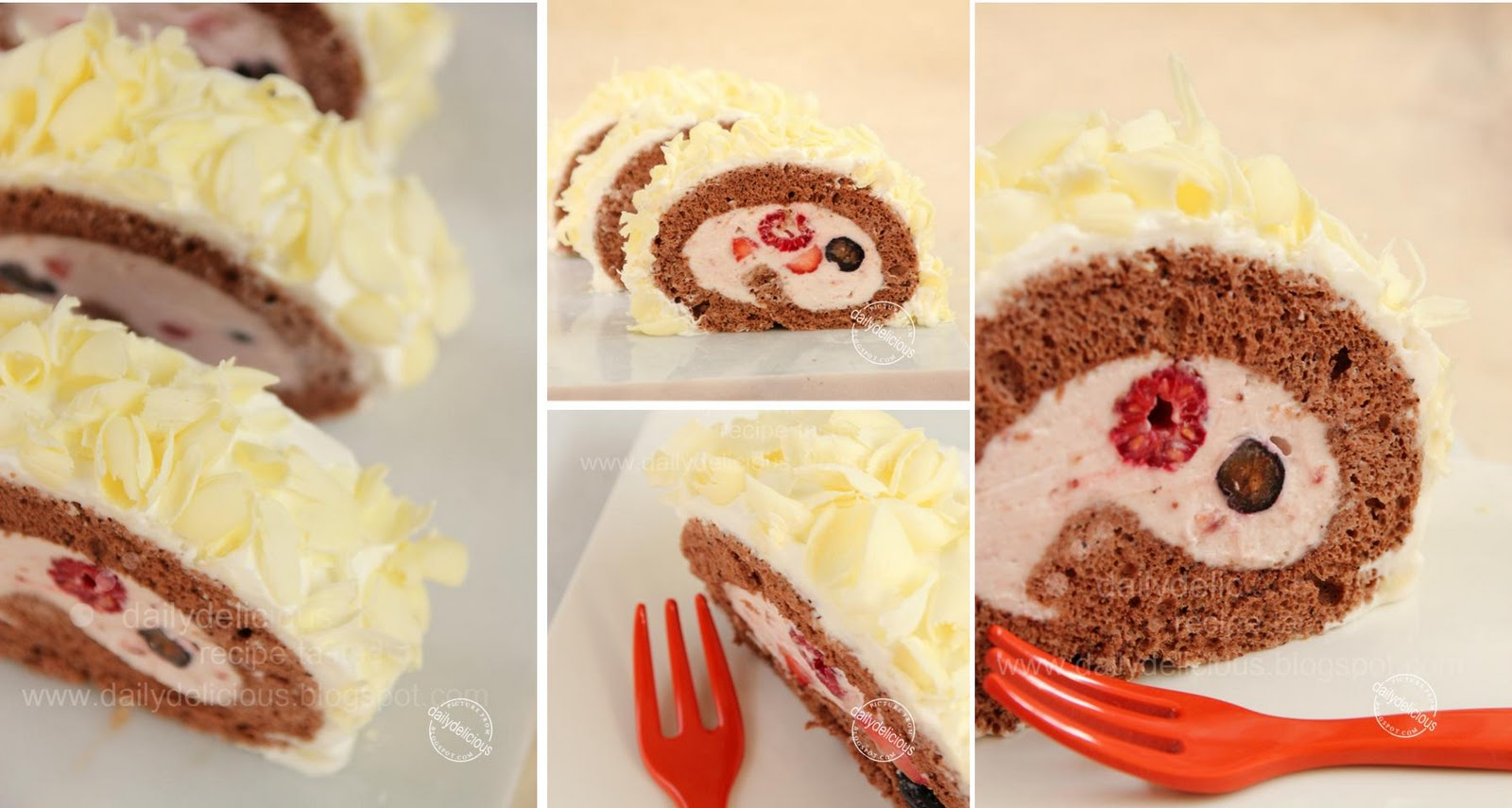 Recette Roll Cakes