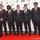 OIC - ENTSIMAGES.COM - Nick Easter, Marland Yarde, Alex Goode, Danny Cipriani and Billy Vunipola at the  Carry Them Home - rugby dinner(Suits provide by Eden Park)  at the Grosvenor House London 5th August 2015 Photo Mobis Photos/OIC 0203 174 1069