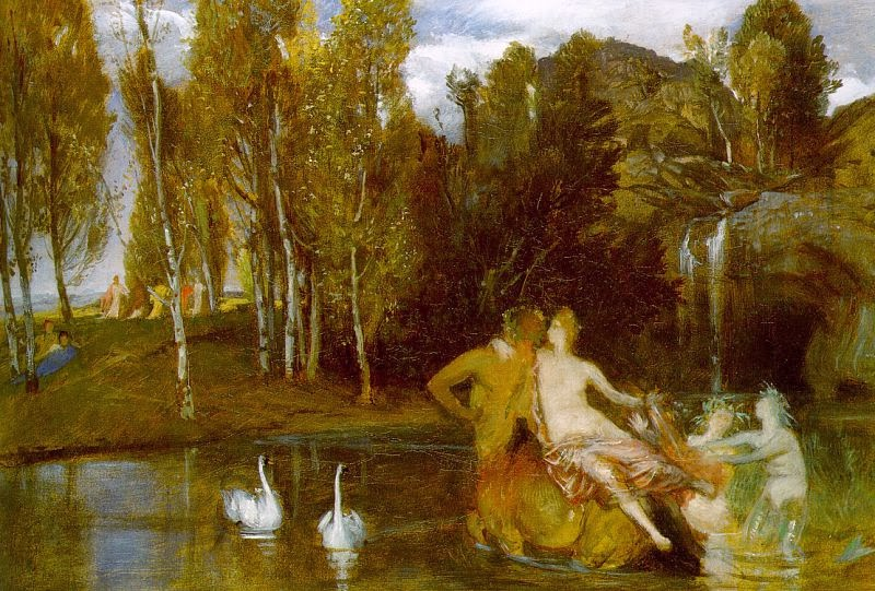 Arnold Böcklin - Elysian Fields