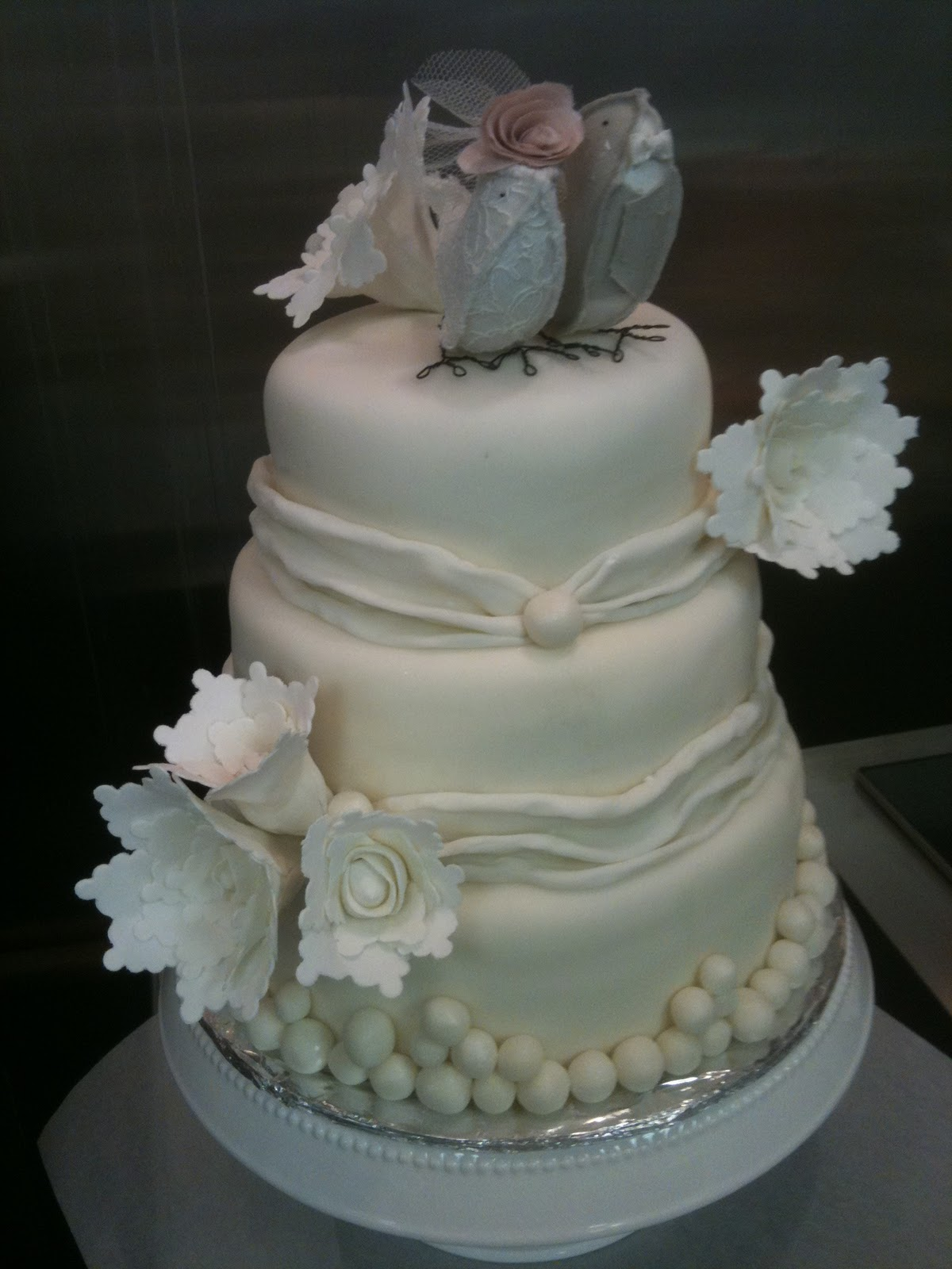 love the porters my first wedding cake. Black Bedroom Furniture Sets. Home Design Ideas