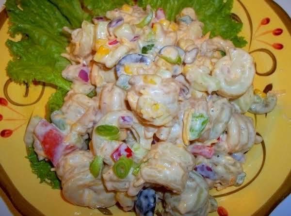 Superb  Southwestern Ranch  Pasta Salad