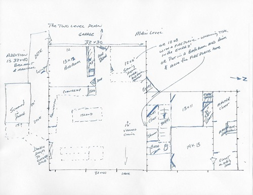 House plan  one