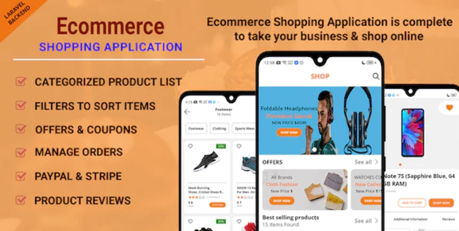 Ecommerce Shopping App Source Code