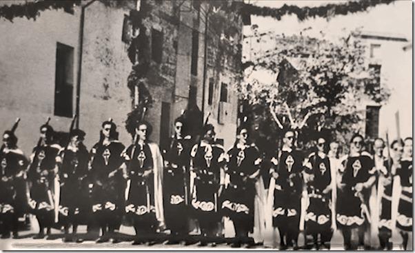 FILÀ VASCOS COCENTAINA DESAPAREGUDA kiko Templario de MURO DEL LIBRO COCENTAINA UN PASSEIG PEL TEMPS bb