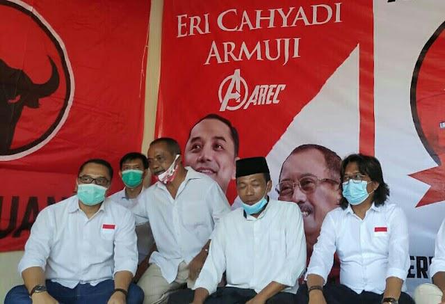 Eri Cahyadi, Peresmian Posko AREC Merebut Hati Rakyat Di Kampung