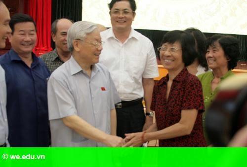 Hình 1: Cử tri Hà Nội: 'Cải cách giáo dục chưa động đến phần gốc'