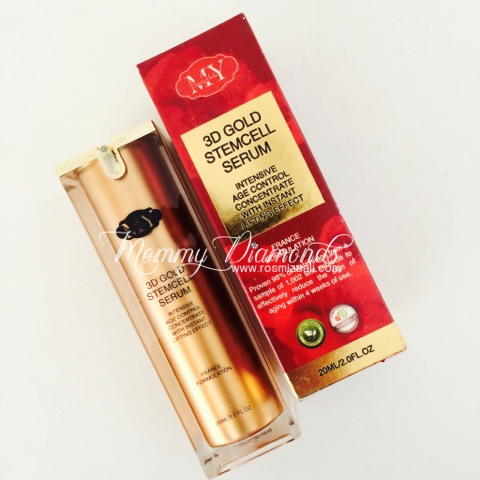 3D GOLD STEMCELL SERUM, MY BEAUTY HERBS