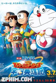 Doraemon: Nobita Và Những Hiệp Sĩ Không Gian - Doraemon: Nobita's Space Heroes (2015) Poster