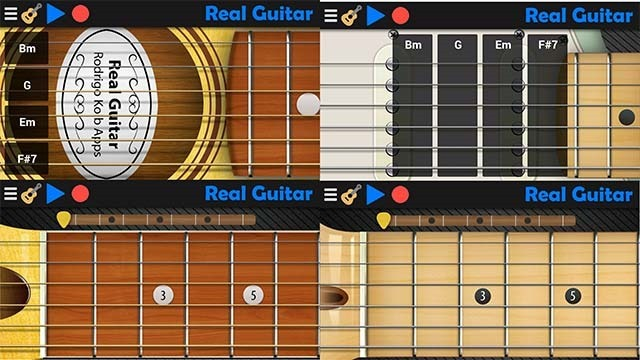 real-guitar