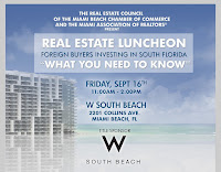 """Real Estate Luncheon-Foreign Buyers Investing in So. FL. """"What You Need To Know"""""""