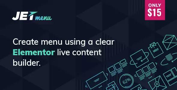 JetMenu v1.5.15 – Mega Menu for Elementor Page Builder Wordpress Plugin