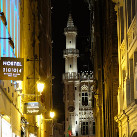 Brussels by Beh Heng Long - City,  Street & Park  Historic Districts ( brussels,  )