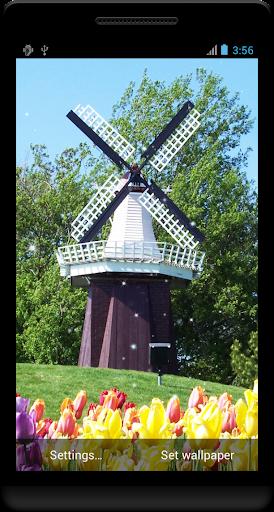 風車のライブ壁紙