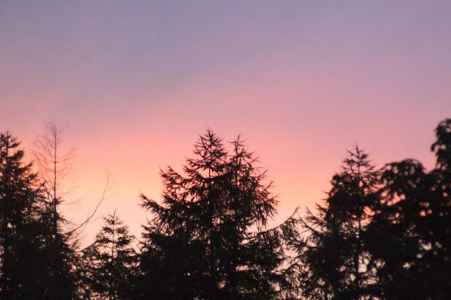 甘利山の夕焼け