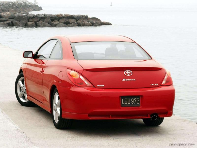 2004 toyota camry solara coupe specifications pictures. Black Bedroom Furniture Sets. Home Design Ideas