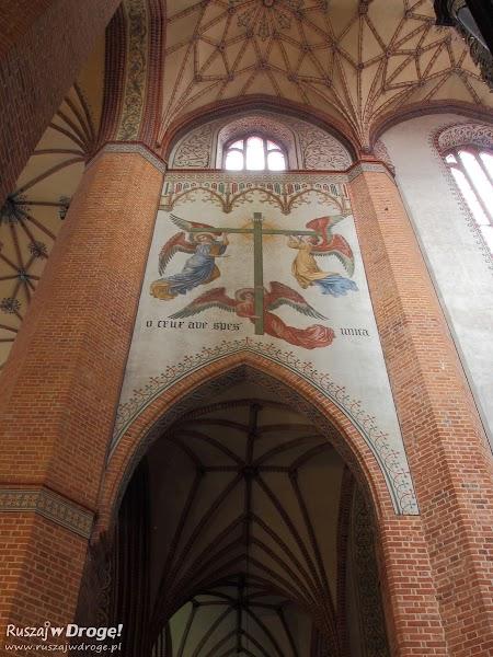 Katedra Pelplin - sklepienia i witraże